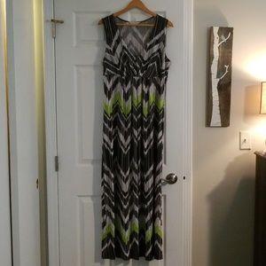 Laura Ashley V-neck Maxi dress